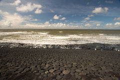 抑制在北海彼德森荷兰的障碍 库存照片
