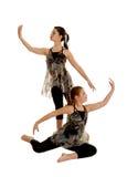 抒情舞蹈的二重奏 免版税库存图片