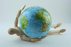 抓住世界 免版税图库摄影