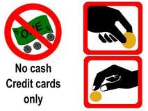 投入硬币后自动操作的符号 库存照片