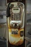 投币式公用电话 免版税图库摄影