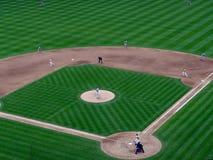 投手对风的Red Sox投掷 免版税库存图片