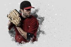 投手棒球 免版税库存图片