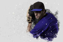 投手棒球 免版税图库摄影