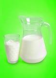 投手用牛奶 免版税库存图片