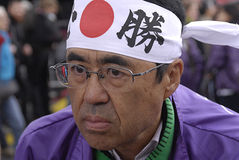 投标japanes奥林匹克 库存照片