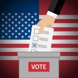 投票的概念 库存例证