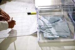 投票站016 免版税库存图片