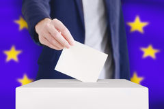 投票 免版税图库摄影