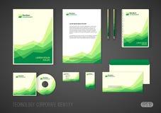 投资公司的公司本体模板,现代文具模板设计传统化了与投资事务的图 向量例证