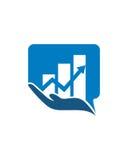 投资关心2财政业务保险摘要 免版税库存图片