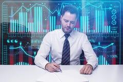 投资和财务概念 库存图片