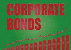 投资在公司债券 向量例证