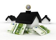 投资在房地产 皇族释放例证