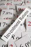 投资收益概念 免版税库存照片
