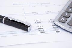 投资收益 免版税图库摄影