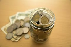 投资概念的金钱 免版税图库摄影