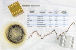 投资概念背景 免版税图库摄影