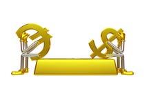 投资的货币对 免版税库存图片