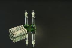 投资科学 免版税图库摄影