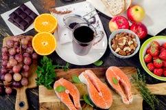 抗氧剂的食物富有 免版税图库摄影