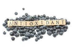 抗氧化蓝莓 免版税库存图片