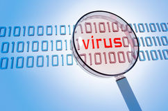 抗病毒 免版税库存图片