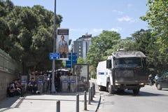抗议在土耳其, 2013年 免版税库存照片