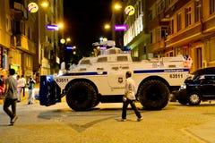 抗议在土耳其 库存图片