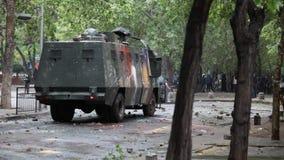 抗议在智利 影视素材