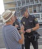 抗议在西班牙078 库存照片
