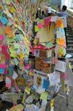 抗议横幅 免版税库存图片