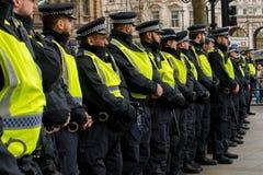 抗议游行-伦敦,英国 免版税库存图片