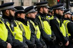 抗议游行-伦敦,英国 库存照片