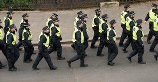 抗议游行-伦敦,英国 图库摄影