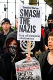 抗议游行-伦敦 库存照片