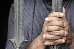 抗议的手 免版税图库摄影