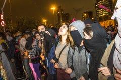 抗议者 免版税库存照片