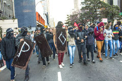 抗议者 免版税库存图片