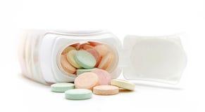 抗酸片剂 免版税图库摄影
