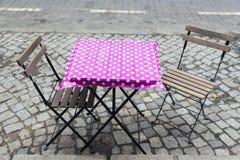 折叠椅 免版税库存图片