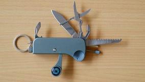 折叠的刀子矿穴 免版税库存照片