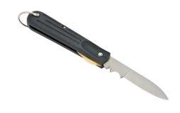 折叠的刀子 库存照片