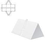 折叠的组装30 库存例证