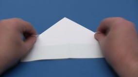 折叠纸小船-时间间隔 影视素材