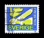 折扣邮票, serie,大约1979年 库存图片