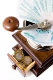 折旧货币 库存照片