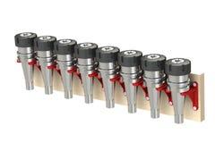折磨与弹药筒容易的存贮的碾碎的弹药筒  3d翻译 3d例证 皇族释放例证