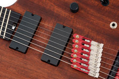 折衷吉他 库存图片