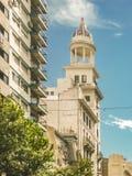 折衷样式大厦,蒙得维的亚,乌拉圭 免版税库存照片